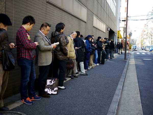 فرهنگ صف در ژاپن