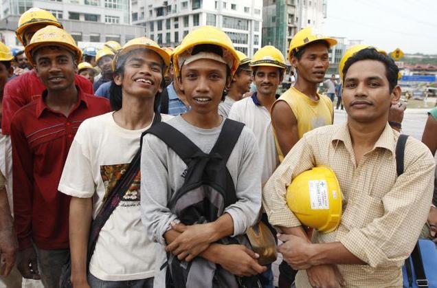 کارگران مالزی